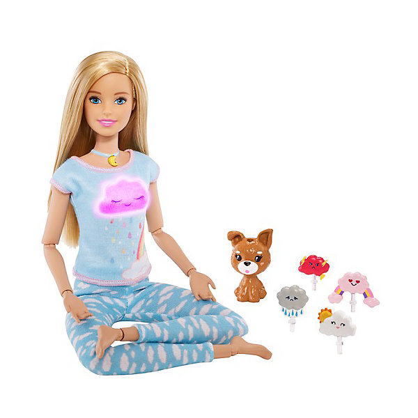 цена на Mattel Игровой набор Barbie Йога