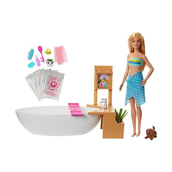 цена на Mattel Игровой набор Barbie Спа-салон
