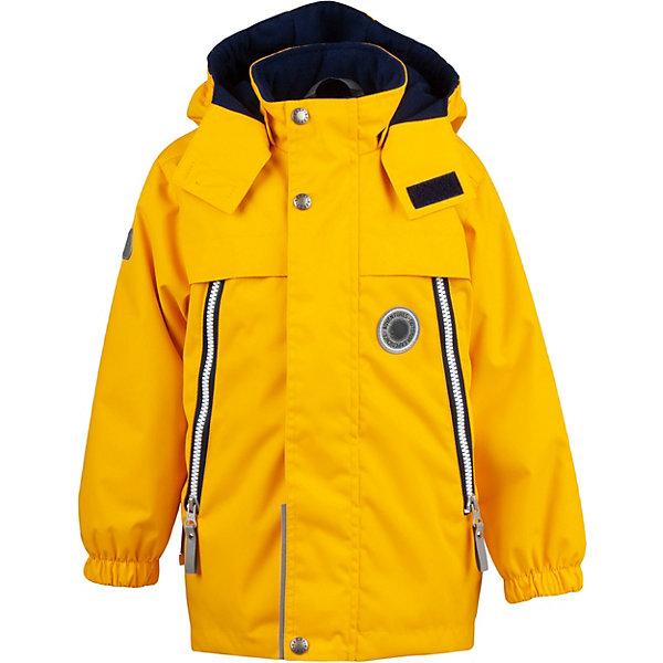 Купить Демисезонная куртка Kerry Kevin, Эстония, желтый, 116, 104, 134, 128, 122, 110, Мужской