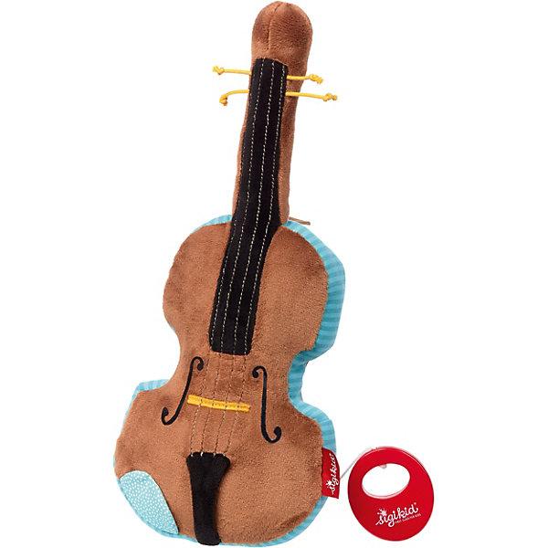 Фото - Sigikid Музыкальная Мягкая игрушка Sigikid, Скрипка, 35 см сувенир скрипка музыкальный