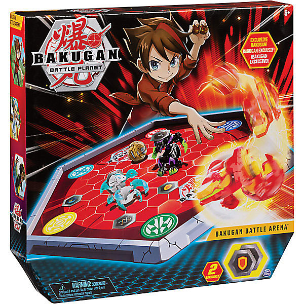 Spin Master Игровой набор Spin Master Bakugan Арена, красная