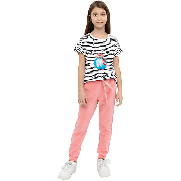 Спортивные брюки Button Blue розовый  14118351
