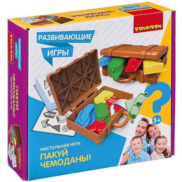 Bondibon Развивающая игра Пакуй чемоданы