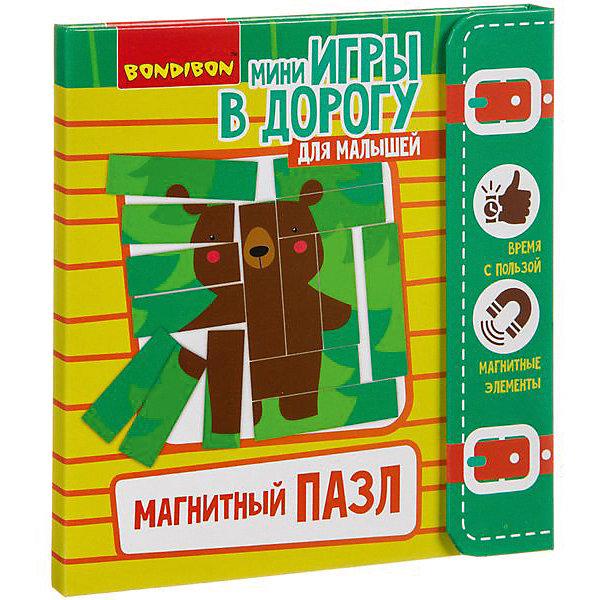 Bondibon Развивающая игра Магнитный пазл
