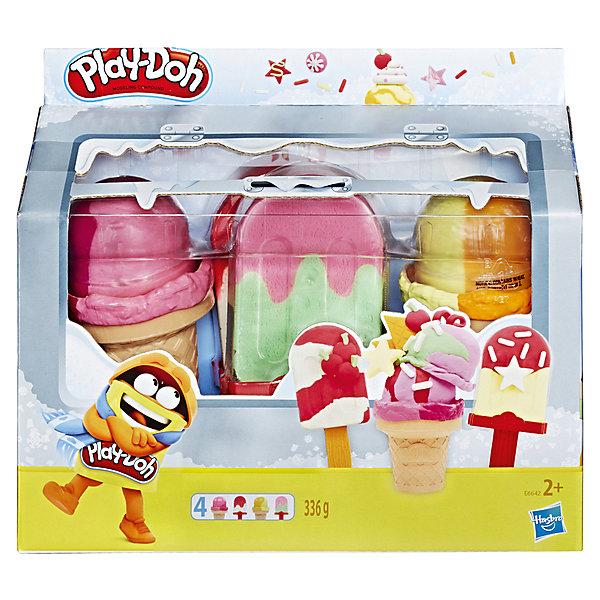 Купить Игровой набор Play-Doh Холодильник с мороженым, Hasbro, Китай, разноцветный, Унисекс