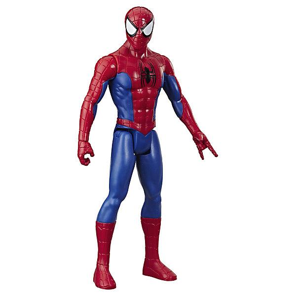 Фото - Hasbro Игровая фигурка Marvel Spider-Man Titan Hero Series Человек-паук, 30 см hasbro игровая фигурка spider man хобгоблин сакс