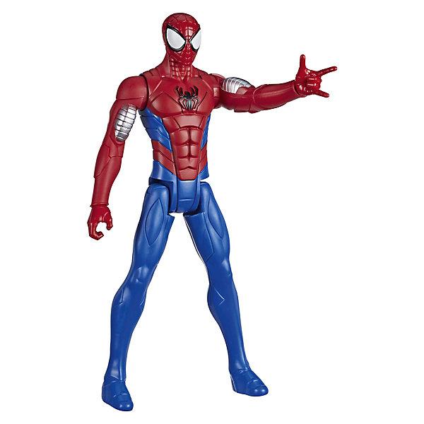 Фото - Hasbro Игровая фигурка Marvel Spider-Man Titan Hero Series Вооружение. Человек-паук, 30 см hasbro игровая фигурка spider man хобгоблин сакс