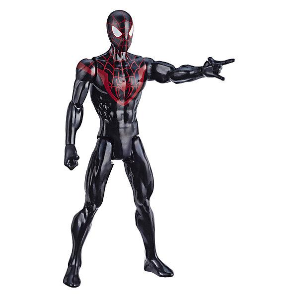 Фото - Hasbro Игровая фигурка Marvel Spider-Man Titan Hero Series Майлз Моралез, 30 см hasbro игровая фигурка spider man хобгоблин сакс