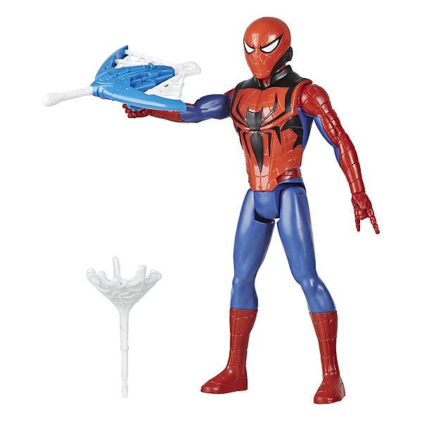 Фото - Hasbro Игровая фигурка Marvel Spider-Man Titan Hero Series Человек-паук hasbro игровая фигурка spider man хобгоблин сакс
