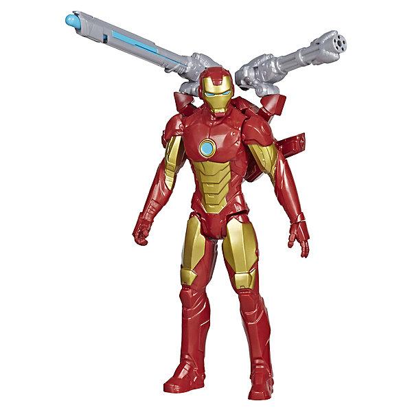 Hasbro Игровая фигурка Marvel Avengers Titan Hero Series Железный человек, 30 см