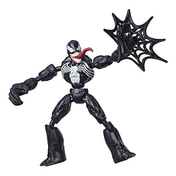 Фото - Hasbro Игровая фигурка Marvel Spider-Man Bend and Flex Веном, 15 см hasbro игровая фигурка spider man хобгоблин сакс