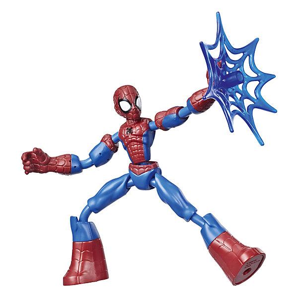 Hasbro Игровая фигурка Marvel Spider-Man Bend and Flex Человек-паук, 15 см