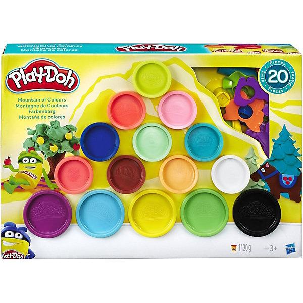Hasbro Игровой набор Плей-до Горы цвета