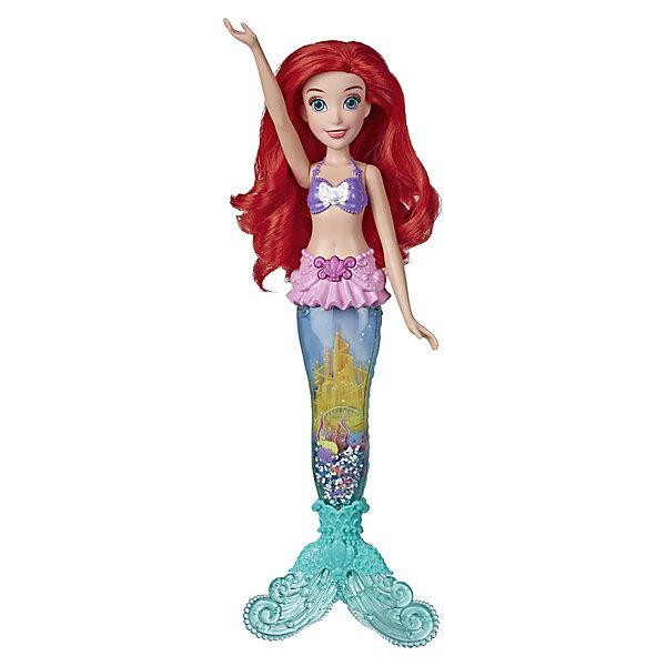 Купить Интерактивная кукла Disney Princess Glitter'n Glow Ариэль, Hasbro, Китай, разноцветный, Женский