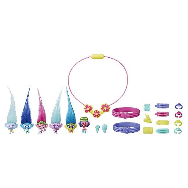 Hasbro Игровой набор Trolls World Tour Модные аксессуары hasbro trolls c1306 волшебное дерево троллей