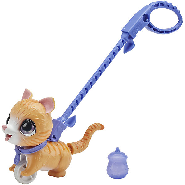 цена на Hasbro Механическая игрушка FurReal Friends Маленький Озорной Питомец Табби