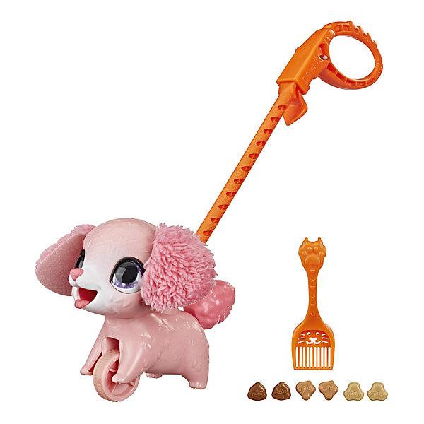 Hasbro Интерактивная игрушка FurReal Friends Шаловливый питомец Пудель, маленький интерактивная игрушка furreal friends полярный медвежонок