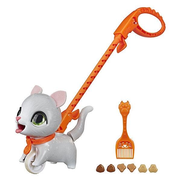 Hasbro Интерактивная игрушка FurReal Friends Шаловливый питомец Котёнок, маленький интерактивная игрушка furreal friends полярный медвежонок