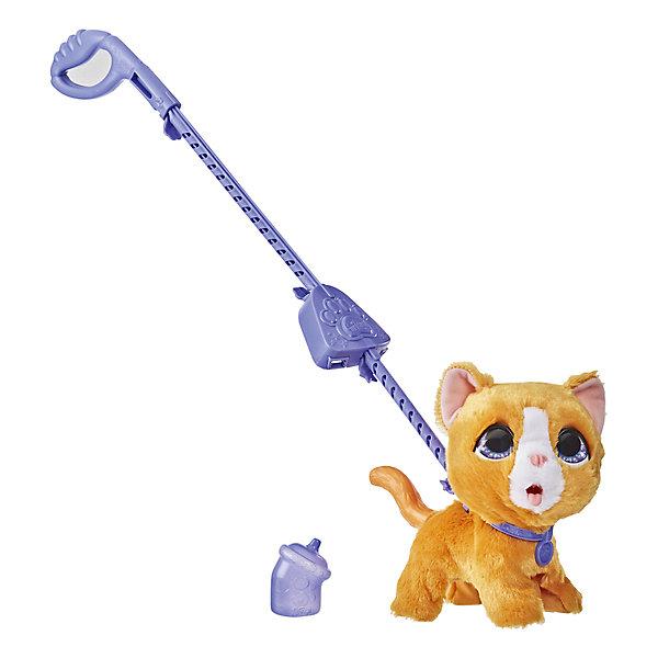 Купить Интерактивная игрушка FurReal Friends Озорной питомец Котёнок, большой, Hasbro, Китай, разноцветный, Унисекс