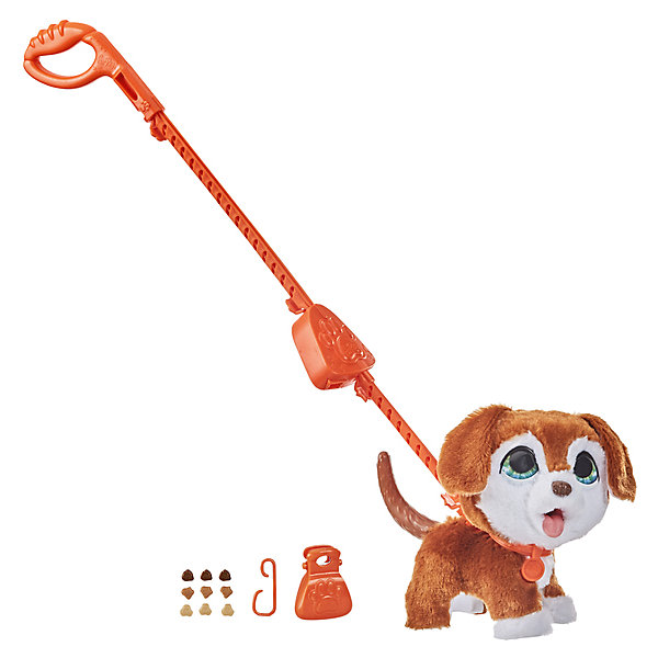 Купить Интерактивная игрушка FurReal Friends Шаловливый питомец Щенок, большой, Hasbro, Китай, разноцветный, Унисекс
