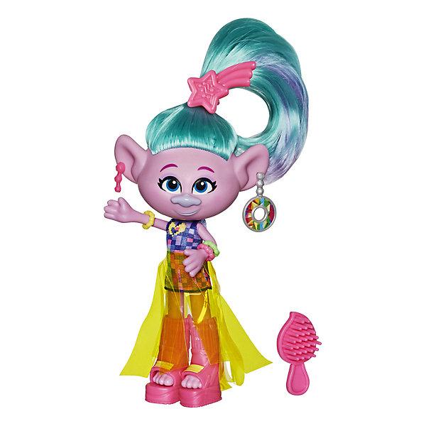 Hasbro Кукла Trolls World Tour Делюкс Сатинка