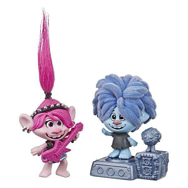 Hasbro Игровой набор Trolls World Tour Город Рок hasbro игровой набор trolls тролли с супер длинными волосами голубой тролль
