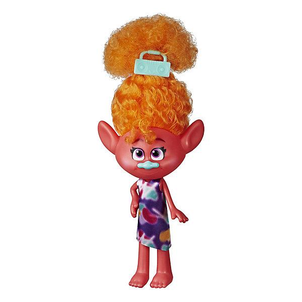 Hasbro Кукла Trolls World Tour Модный тролль Диджей Звуки trolls большая фигура тролль guy diamond 35 см