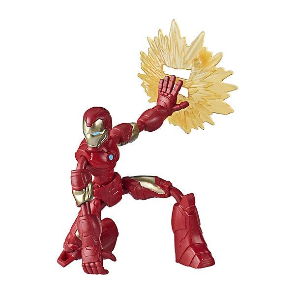 Фото - Hasbro Игровая фигурка Marvel Avengers Bend and Flex Железный человек, 15 см фигурка железный человек режим сражения hasbro e0560
