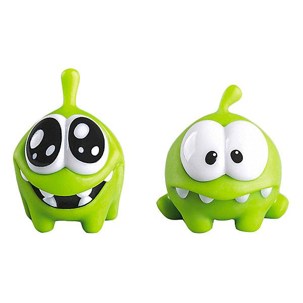 Купить Набор фигурок Prosto Toys Cut the Rope, 2 шт, 4 см, Россия, зеленый, Унисекс