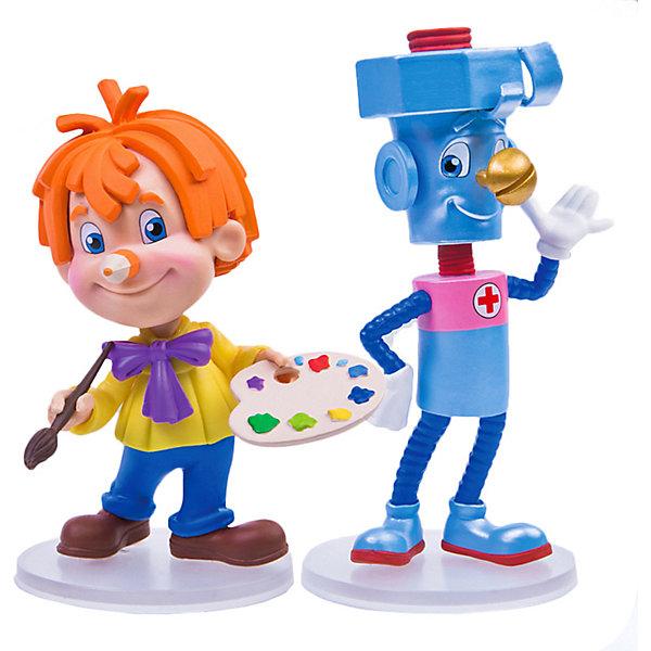 Купить Набор фигурок Prosto Toys Карандаш и Самоделкин, 2 шт, 7 см, Россия, разноцветный, Унисекс