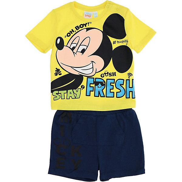 Купить Комплект:футболка, шорты Original Marines, Китай, желтый, 86, 74, 80, 92, 98, 68, Мужской