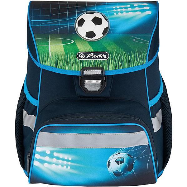 herlitz Ранец Herlitz Loop Plus Soccer, с наполнением стоимость