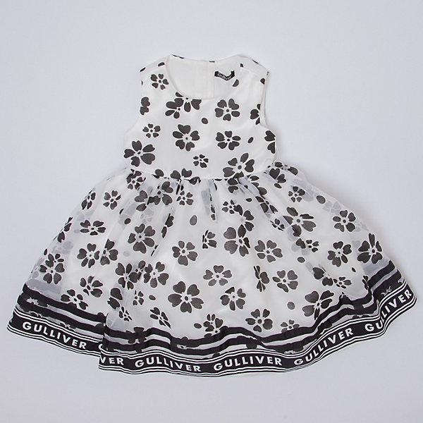 Купить Нарядное платье Gulliver, Китай, белый, 122, 104, 116, 110, 128, 98, Женский