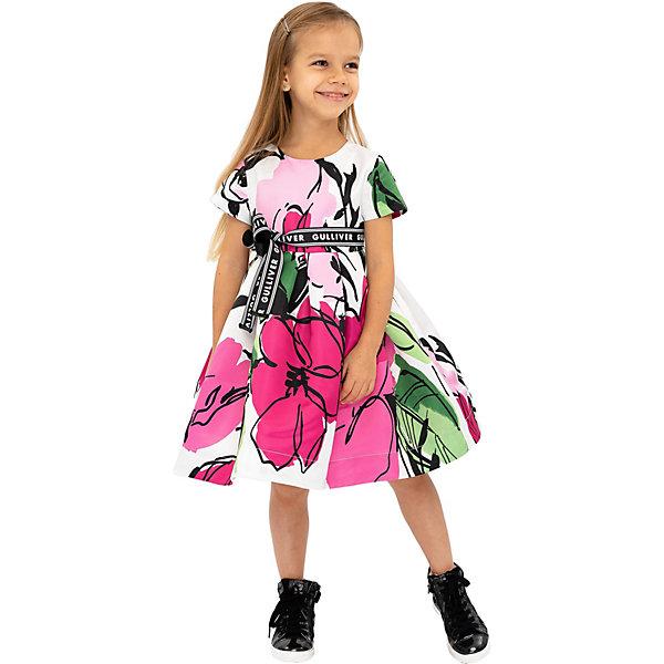 Купить Нарядное платье Gulliver, Китай, розовый, 104, 110, 128, 122, 116, 98, Женский