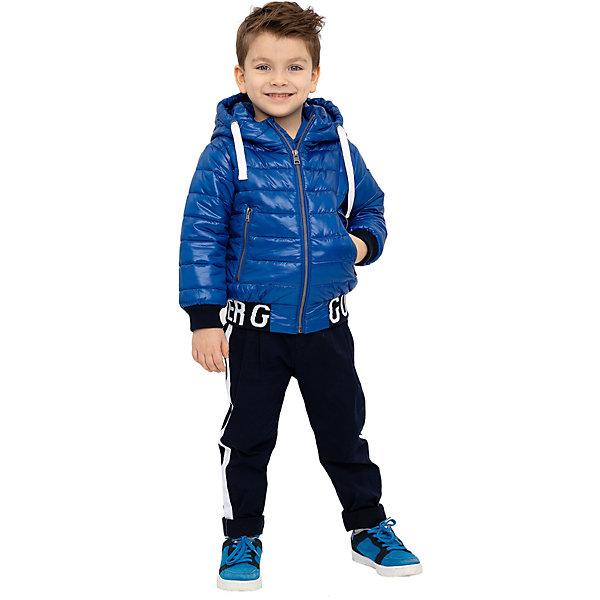 Купить Демисезонная куртка Gulliver, Китай, синий, 122, 104, 110, 98, 128, 116, Мужской