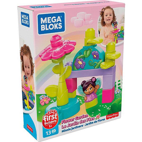 Mattel Конструктор Mega Bloks Цветочный сад, 13 деталей mattel конструктор mega bloks любимый щенок 15 деталей
