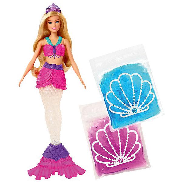 Купить Кукла Barbie Русалочка со слаймом, Mattel, Китай, разноцветный, Женский