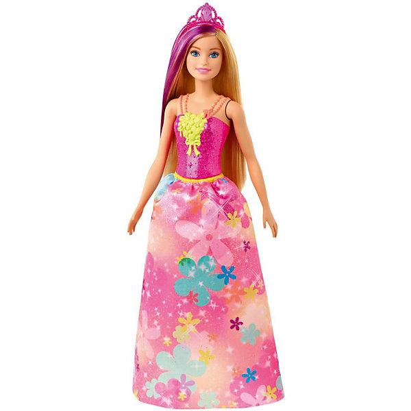 Фото - Mattel Кукла Barbie Dreamtopia Принцесса В малиновом топе кукла barbie dreamtopia