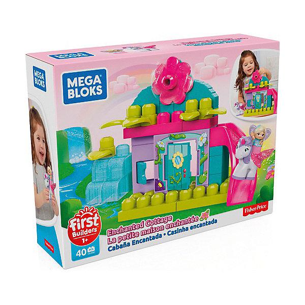 Mattel Конструктор Mega Bloks Волшебный коттедж, 40 деталей mattel конструктор mega bloks любимый щенок 15 деталей