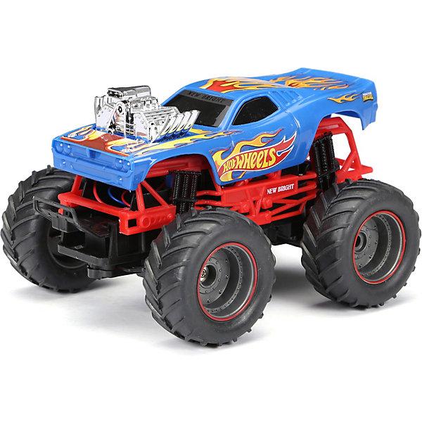 Радиоуправляемая машинка New Bright Monster Truck 1:24, синяя