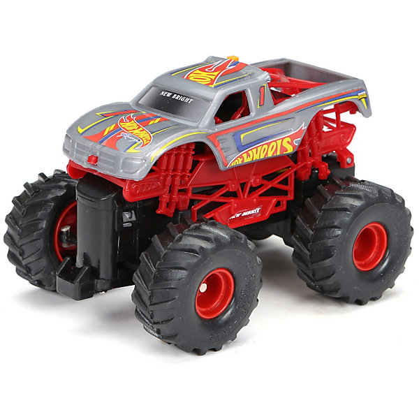 New Bright Радиоуправляемая машинка Monster Truck 1:43, красная