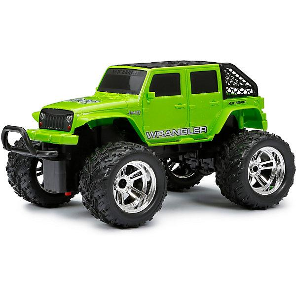 Машинка New Bright 1:18 РУ Chargers Truck зеленая