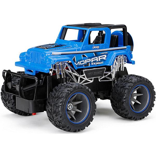 Радиоуправляемая машинка New Bright Truck 1:24, синяя фото