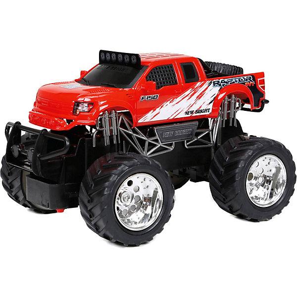 New Bright Радиоуправляемая машинка Truck 1:24, красная