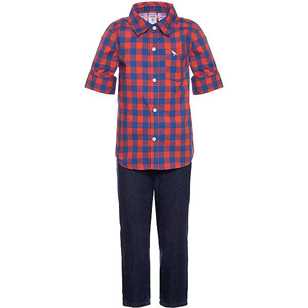 Комплект Carters: рубашка и джинсы Carter`s 14213957
