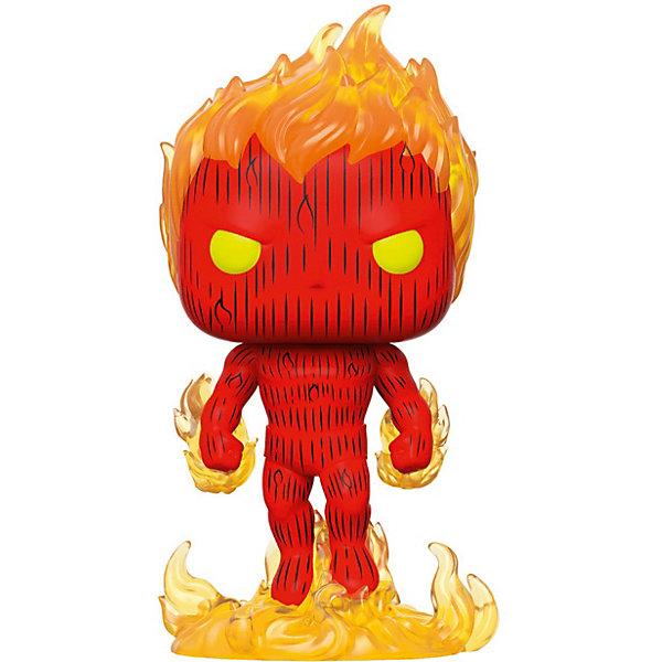 Funko Фигурка Funko POP! Bobble: Marvel: Фантастическая четвёрка: Человек-факел губарев п факел новороссии
