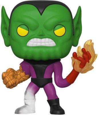 Funko POP! Фигурка Funko POP! Bobble: Marvel: Фантастическая четвёрка: Супер-Скрулл funko фигурка funko pop bobble marvel avengers game тор 47758