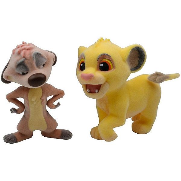 BANDAI Фигурка Disney Character Fluffy Puffy: Король лев: Симба и Тимон