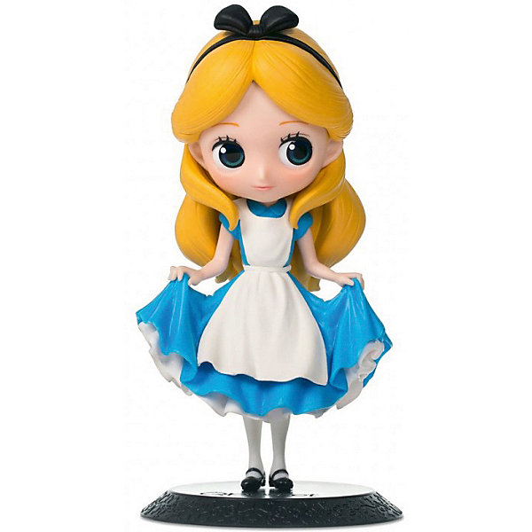 BANDAI Фигурка Bandai Q Posket Disney Characters: Алиса (нормальный цвет) alice q posket characters alice alice in wonderland pvc figure collectible model toy doll 15cm