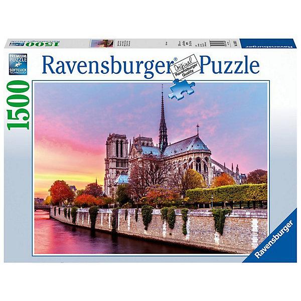 Купить Пазл Ravensburger Нотр Дам, 1500 элементов, Германия, Унисекс